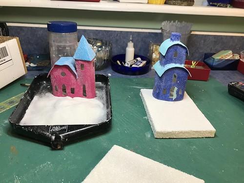 Making Putz Houses