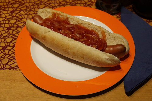 New York Hot Dog (mein erster)