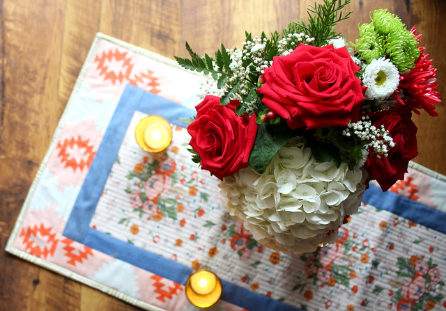Love Story Soulmate Blooms Table Runner