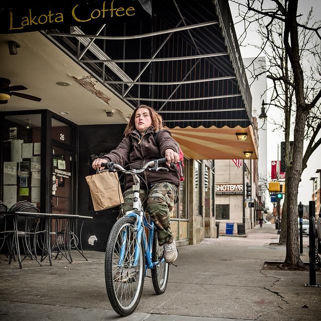 Biker-type --9915