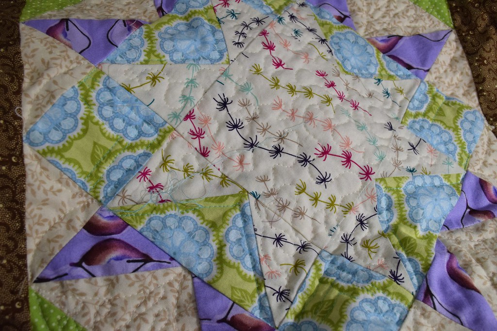 meander quilting sbc