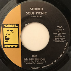 THE 5TH DIMENTION:STONED SOUL PICNIC(LABEL SIDE-A)