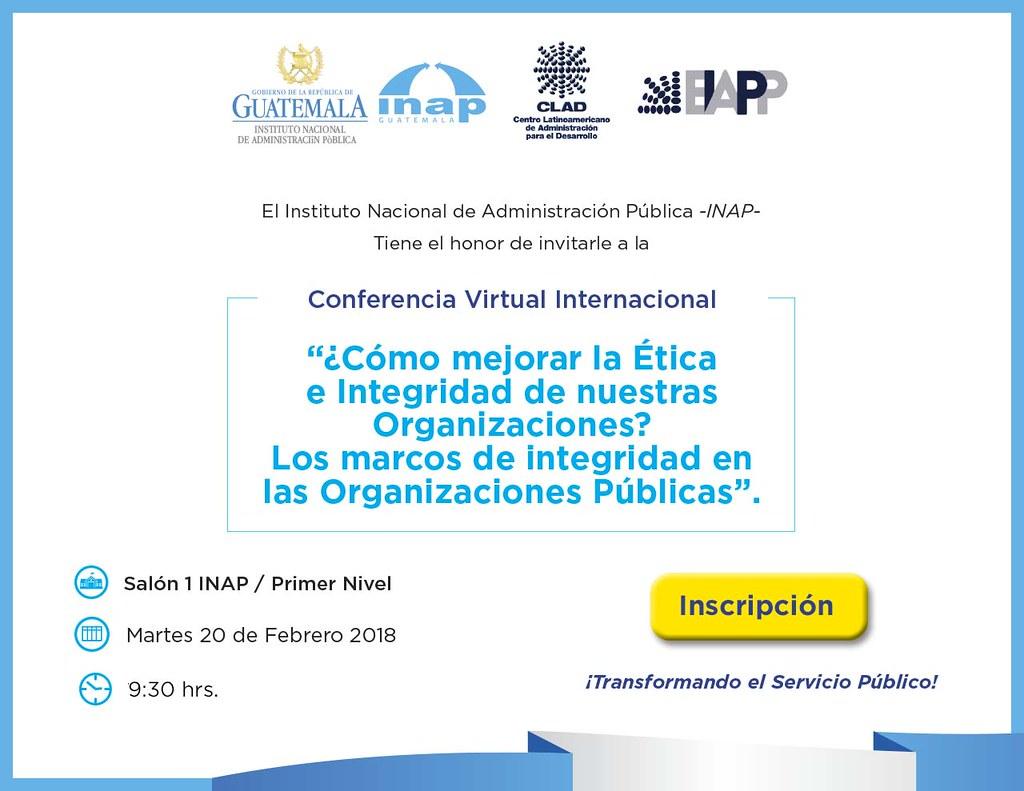 Conferencia etica