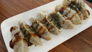 Pan-Fried Dumplings at Su Life