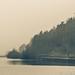 Misty morning at Ridgegate Reservoir, Macclesfield Forest