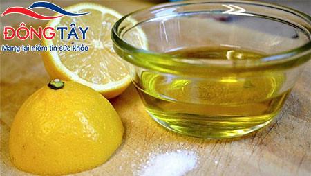 Liệu có tẩy được sỏi mật, sỏi gan bằng dầu oliu và nước chanh?