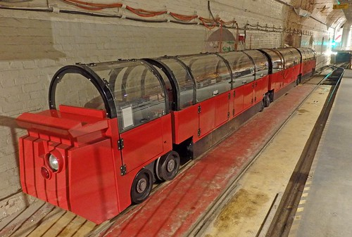 Mail Rail tube train