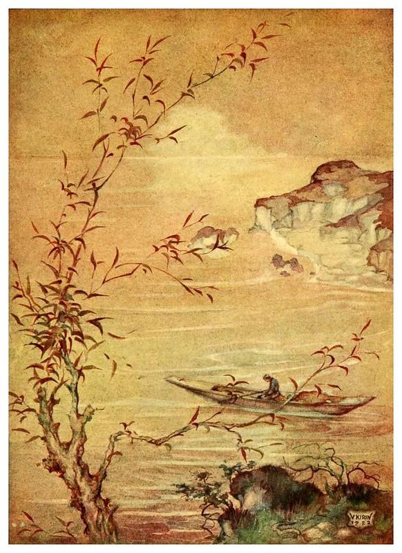 010-El pescador y su esposa-Croatian tales of long ago-1922- Vladimir Kirin