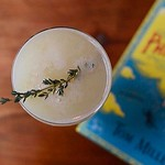 """They say alcohol keeps you warm, right? :snowflake: This is our """"Civil War Monument"""" drink, made with Berkshire Mountain Distillers Greylock Gin, Apricot Puree, Fennel Simple Syrup & Lemon Juice. - - Picture from @emilyhomonoff"""