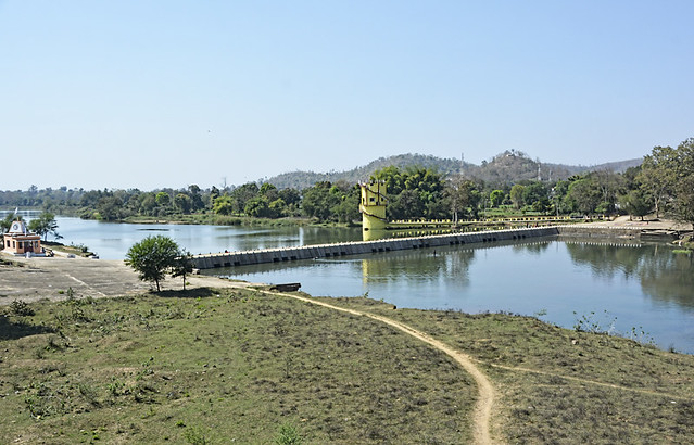 Shivnath river is the current source of drinking water for the villagers in Kaudikasa.