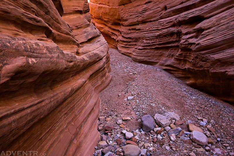 Chute Canyon Lines