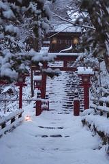 貴船神社(Kifune Shrine) 雪景色-6