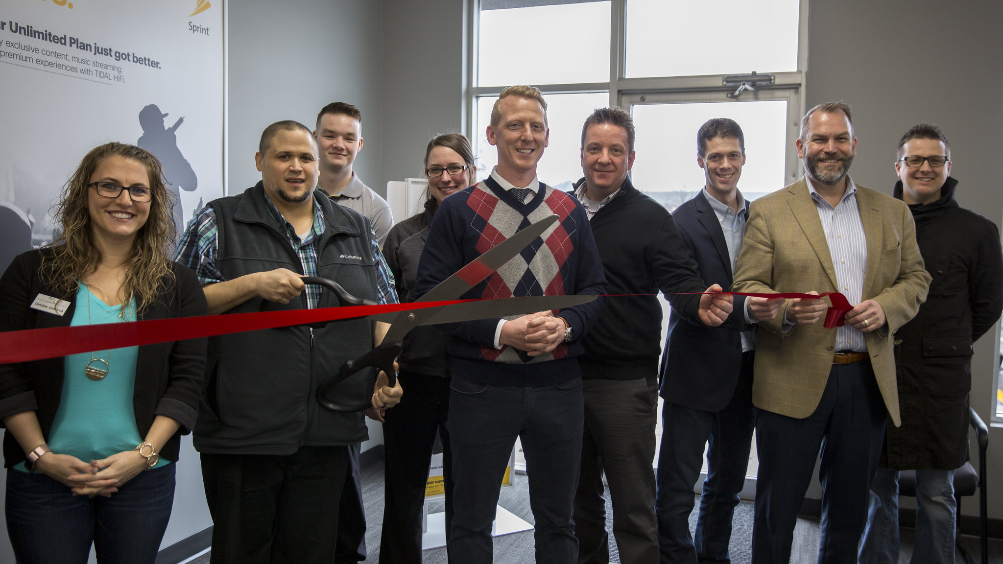 New Sprint Store Ribbon Cutting Celebration