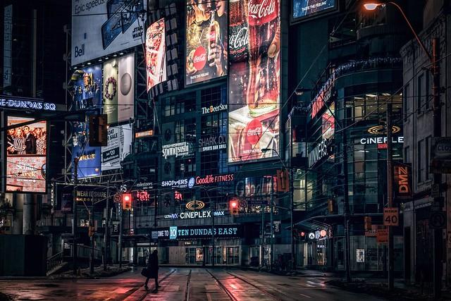 The night walker, Toronto