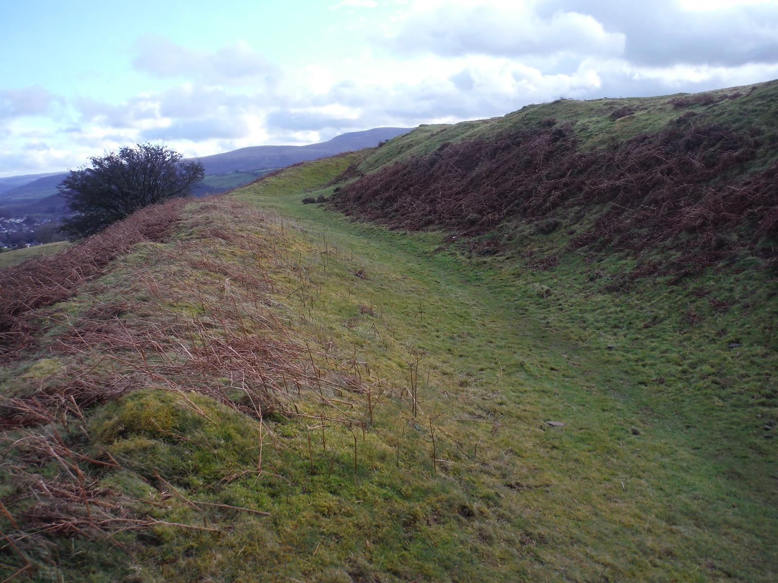 Rampart, Pen-y-crug SWC Walk 306 - Brecon Circular (via Y Gaer, Battle and Pen-y-crug)