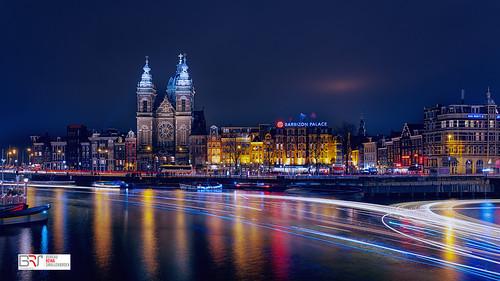 Amsterdam altijd drukte - always busy