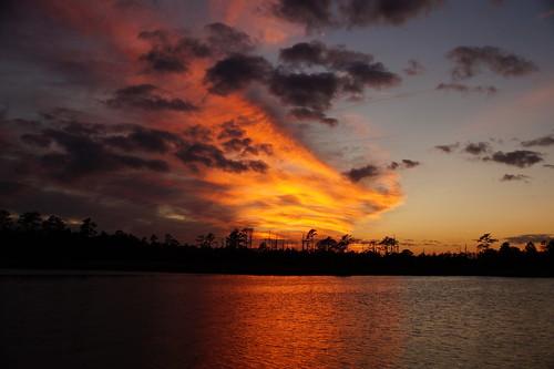 sunset cloudsstormssunsetssunrises spectacularsunsetsandsunrises clouds cloudscape northcarolina northwestcreek reflections sony sonyphotographing sonya58