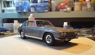 Jensen Interceptor MK1 scale model 1:18 | by www.MODELCARWORKSHOP.nl
