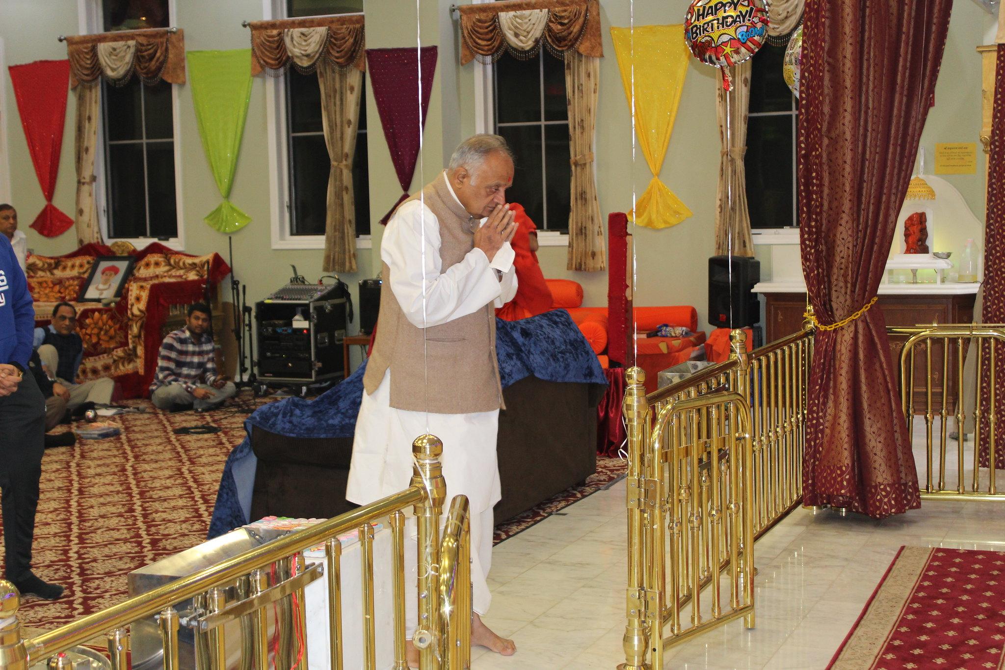 Mota Maharajshree's Visit at Parsippany Temple