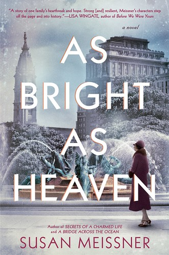 Women's Speaker Series: Susan Meissner, author of As Bright As Heaven, April 9, 2018