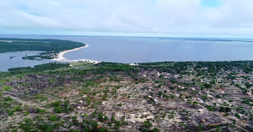 Vídeo feito por drone mostra avanço de ocupação em direção ao lago do Juá, Ocupação ameaça lago do Juá