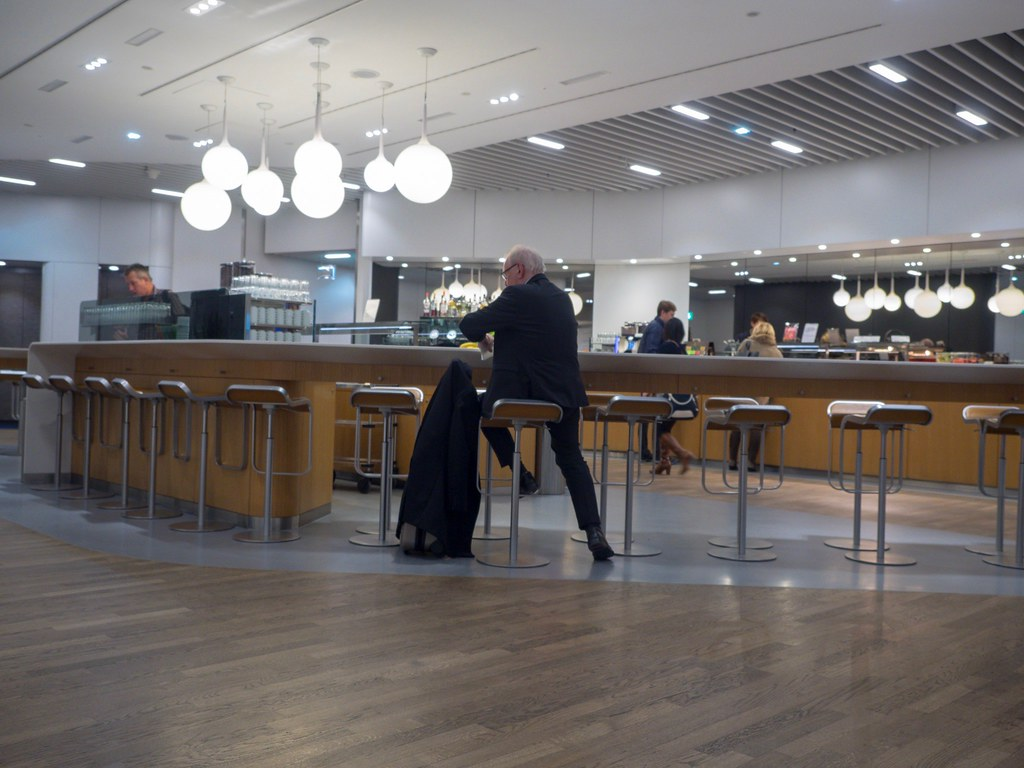 Lufthansa lounge Frankfurt