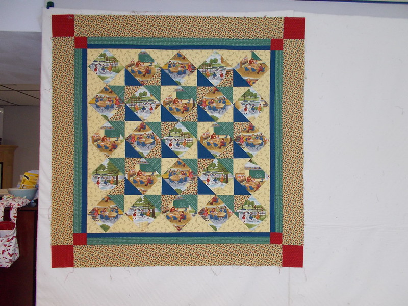 School quilt by Sandi Walton at Piecemeal Quilts