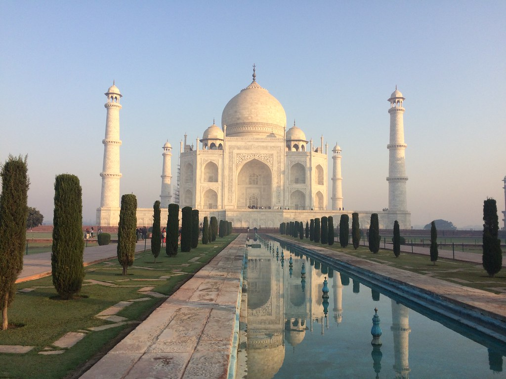 Taj Mahal,Agra.