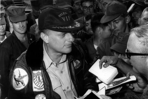 Billy Graham in Vietnam, 23 December 1968
