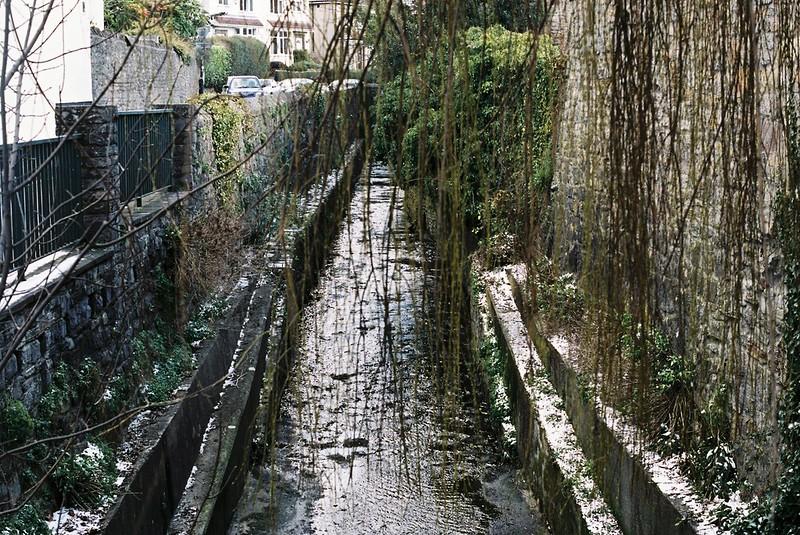The river Trym, Westbury on Trym