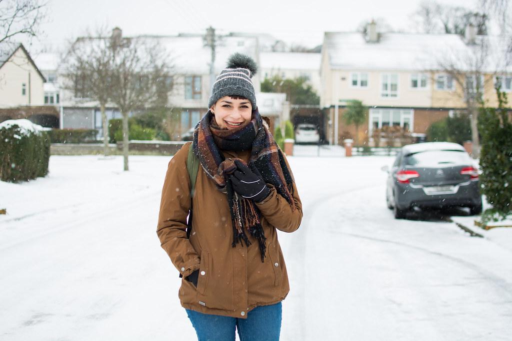 Quando neva em Dublin