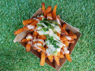 Sweet Potato Fries from Gatherers at Brisbane Vegan Markets