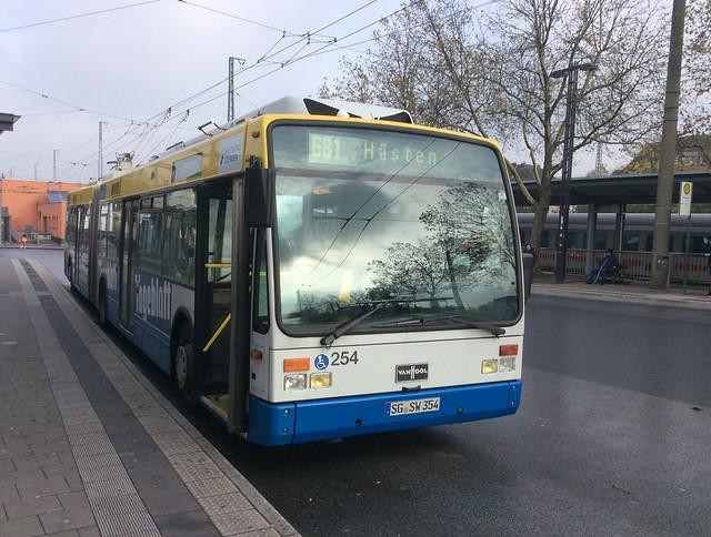 Bus-tràilidh Solingen