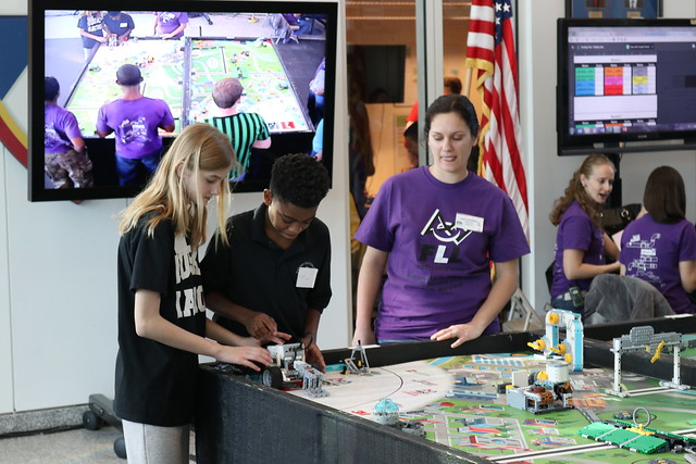 First Lego League at ATEC