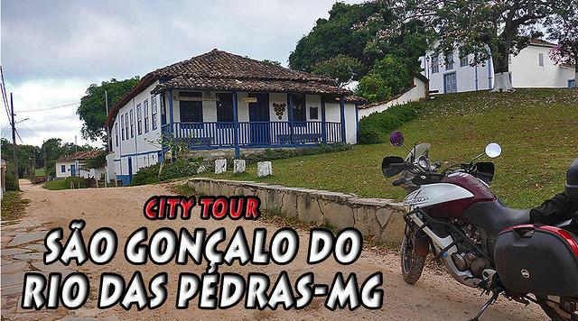 CITY TOUR - S. GONÇALO DO RIO DAS PEDRAS/MG