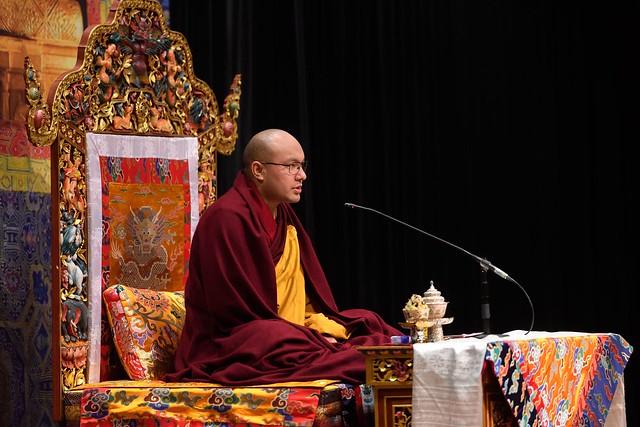 2018 法王噶瑪巴於紐約開示《修心八頌》