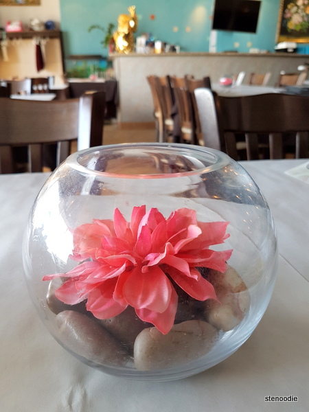 Appetit Restaurant Asiatique table decor