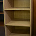 Open oak bookcase E125