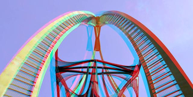 Naum Gabo Coolsingel Rotterdam 3D