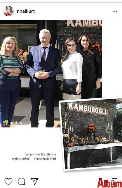 Dr. Nihal Kurt, Dr. Aliye Aydoğan ve Nerdek Kafe sahibi Fatoş Toksöz, Mehmet Kamburoğlu'na hayırlı olsun ziyaretinde bulundu.