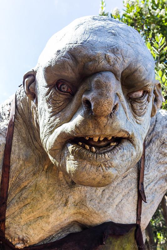 Troll at Weta Cave