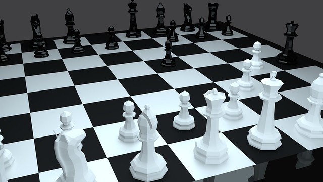 Low Poly Checkmate