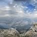 Tenaya Lake from Tenaya Peak - Yosemite by Bruce Lemons