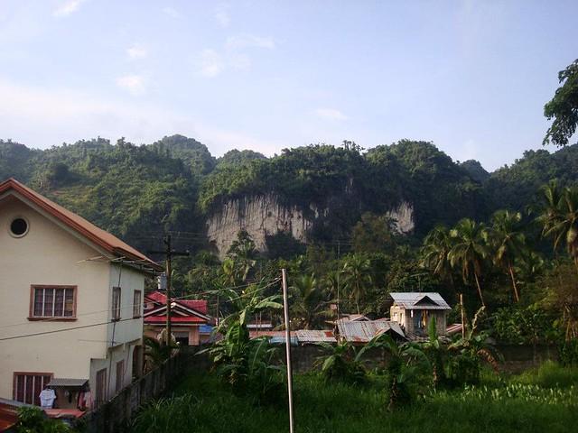 rock climbing site