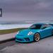 Porsche 991.2 GT3 with HRE C105 in Frozen Stone Bronze by HRE Wheels