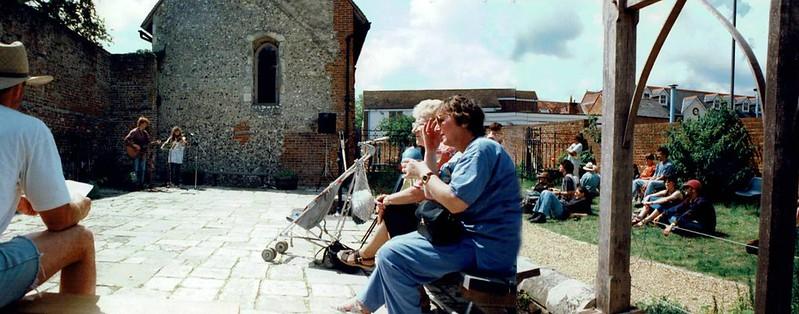 Gareth and Owena Harris  at Beggars Fair 1997