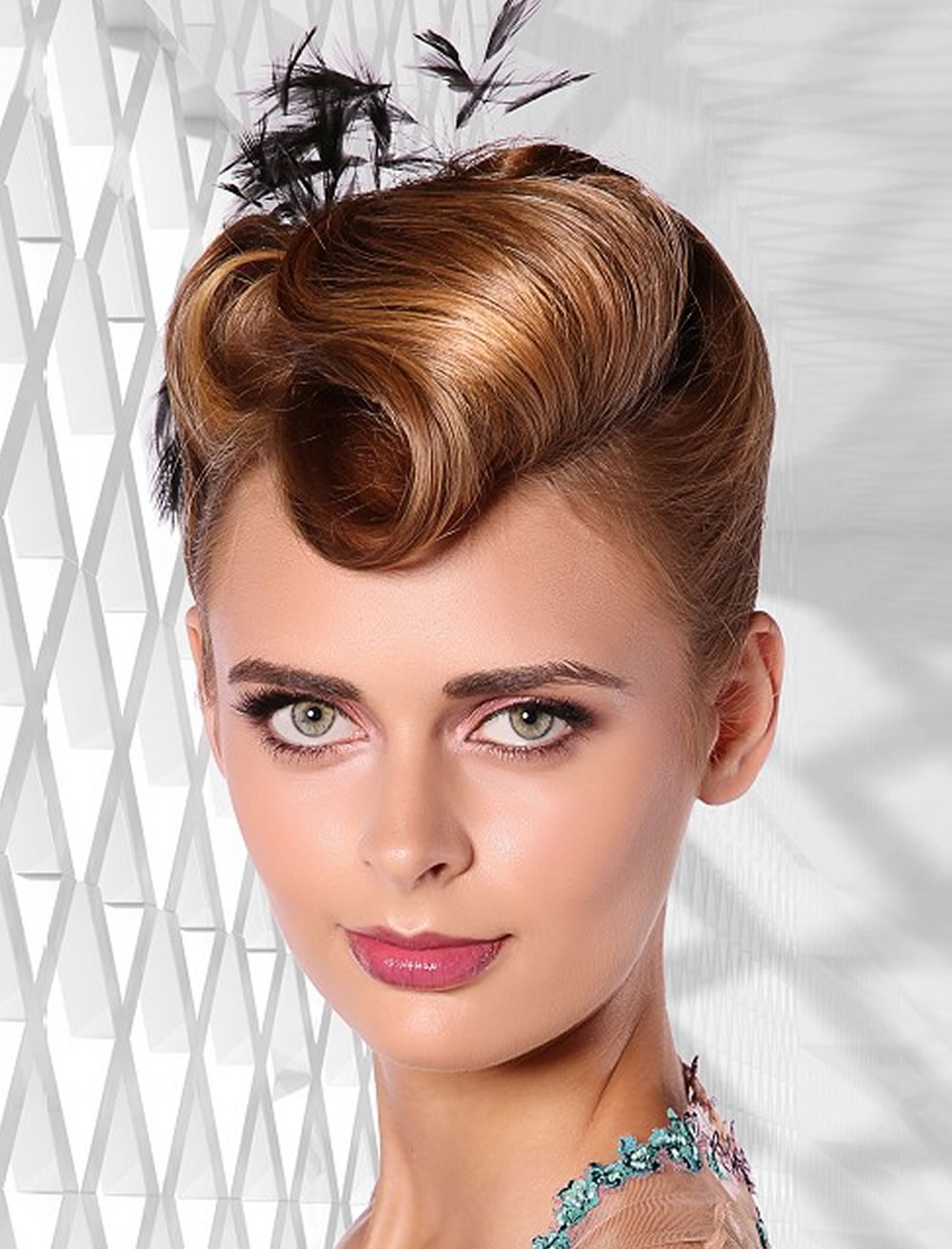 Updo Hairstyles For Round, Square Oval Faces 2018 - 2019 5