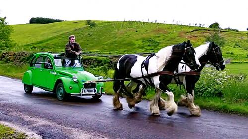 2cv green race