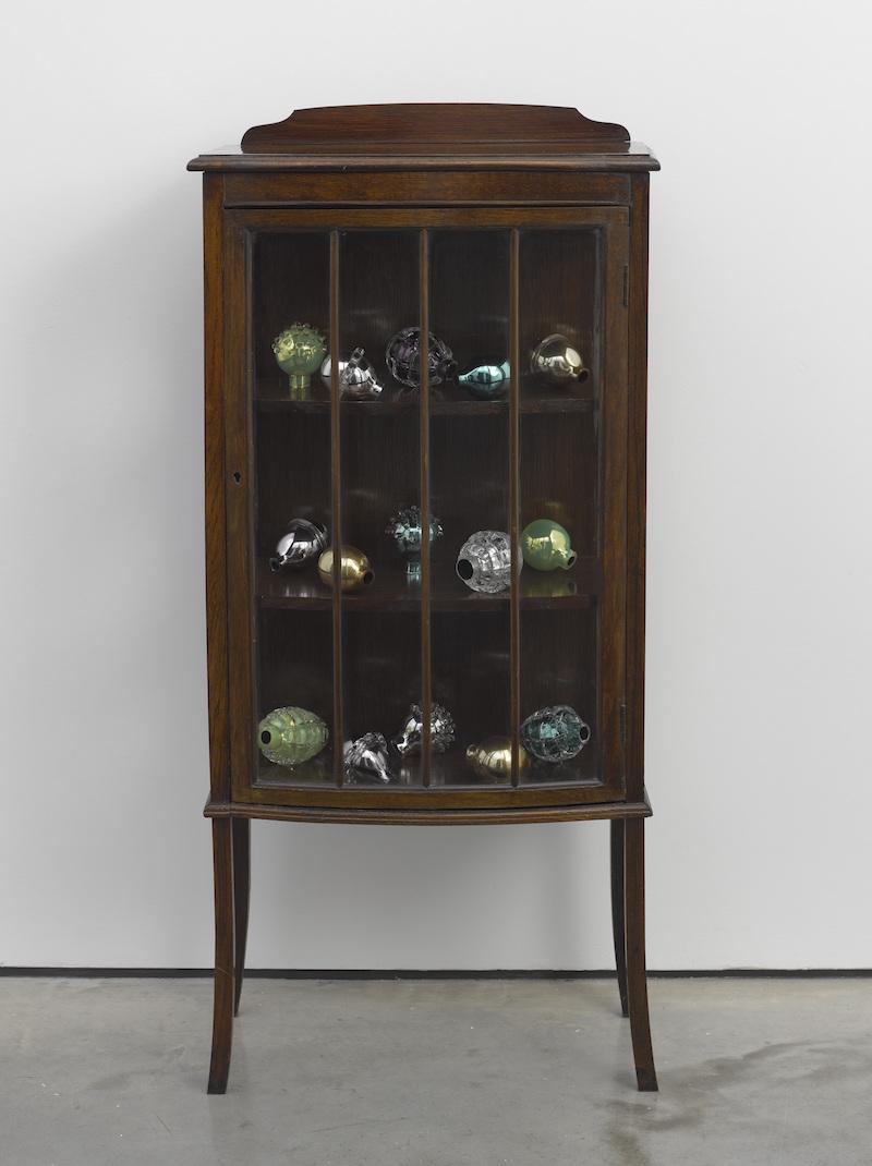 Mona Hatoum Natura morta (bow-fronted cabinet) 2012 Photo © White Cube (Ben Westoby) 1
