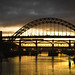 Tyne Bridge at Sunset 1